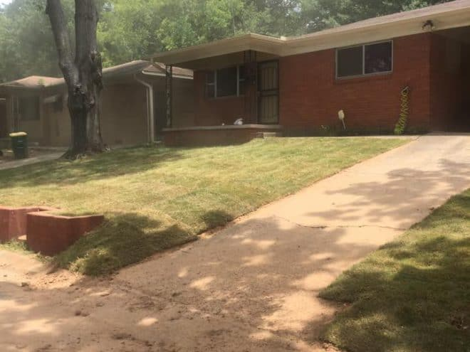 New lawn installation in Little Rock, AR After Photo