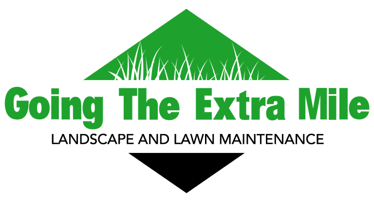 Going The Extra Mile Landscape and Lawn Maintenance Logo